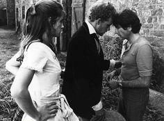 Tournage de Tess : Nastassja Kinski, Peter Firth et Roman Polanski