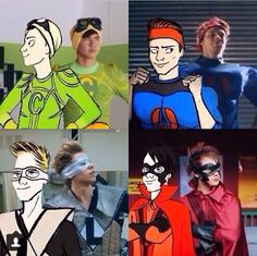 5 Seconds of Summer, my super hero #DrFluke but i have a weird feeling me & #CalPal would be like best friends??