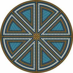 Mochila bottom pattern