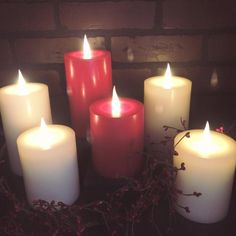 Globrite Flameless Candles by www.delightedhome.com #globrite #flamelesscandles
