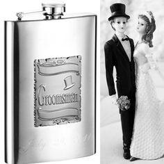 "eFlasks - #groomsmengift #thursday A Visol ""Celebrate"" Flask, for all the dapper gentlemen accompanying your big day! #wedding #gift #drinking #mensfashion"