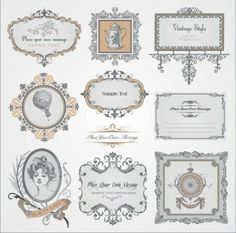 round labels template - Google Search