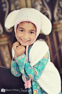 Free #easter #bunny #crochet hat pattern