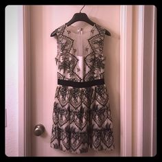 BCBG dress Gorgeous BCBG cocktail dress perfect for weddings and other special occasions BCBG Dresses Mini