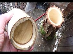 Making Wooden Shrink Pots with the Bodgers - YouTube
