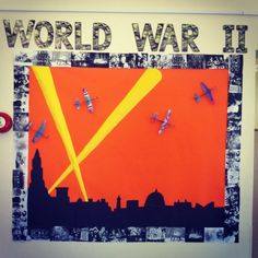 My WW2 classroom display