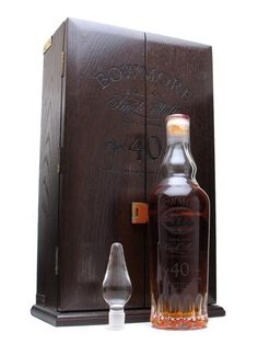 Bowmore 1955 / 40 Year Old Scotch Whisky : The Whisky Exchange