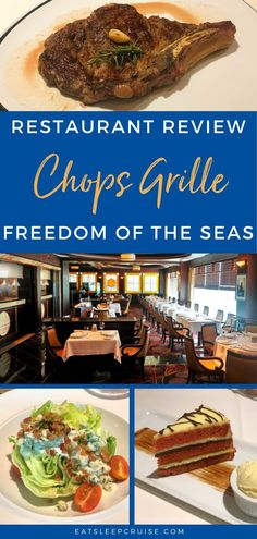 Freedom of the Seas Chops Grille Review (2020) | EatSleepCruise.com. We are back from Royal Caribbean's latest amplified ship and have a look at a specialty dining option in our Freedom of the Seas Chops Grille Review. #cruise #cruisefood #RoyalCaribbean #eatsleepcruise