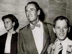 Jane Fonda, Henry Fonda, Peter Fonda