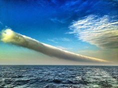 wow...unusual cloud formation....