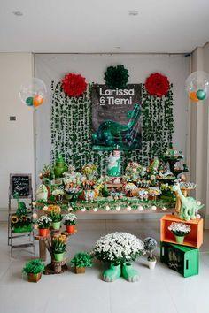 Festa DIY Bom Dinossauro | 6 anos da Larissa