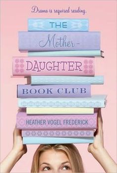 THE MOTHER-DAUGHTER BOOK CLUB by Heather Vogel Frederick. In this series starter, Emma Hawthorne's mother, also head librarian at the Concord, MA library, starts a mother-daughter book club, bringing together four diverse girls. Each girl narrates a chapter, which also begins with a quote from a book the club is reading. In this first book, they read, what else, LITTLE WOMEN. Read my review to find out what other books (and adventures) they tackle!