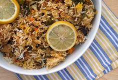 This Muslim Girl Bakes: The Laziest Chicken Biryani. Food Categories, Biryani, Fried Rice, Side Dishes, Recipies, Vegan Recipes, Sweet Home, Food And Drink, Foods