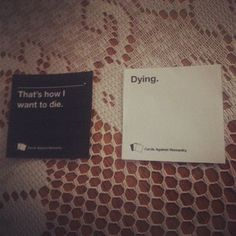 Philosophical? | 18 Cards Against Humanity Combos That Will Make You Think Twice