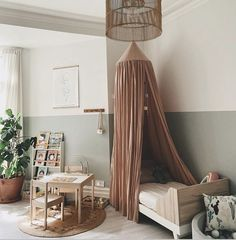 Baby Room Decor, Nursery Decor, Nursery Room, Nursery Ideas, Scandinavian Kids Rooms, Scandinavian Design, Bohemian Baby Nurseries, Kids Curtains, Big Girl Rooms