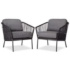 Standish 2-Piece Patio Club Chair - Threshold™ : Target