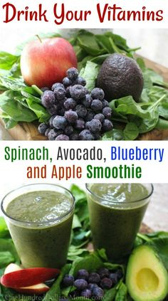 Spinach Avocado Blueberry and Apple Smoothie &; Spinach Avocado Blueberry and Apple Smoothie &; Kathryn Riviera match Spinach Avocado Blueberry and Apple Smoothie &; One […] avocado smoothie Vegetable Smoothie Recipes, Smoothie Recipes For Kids, Vegetable Smoothies, Smoothies For Kids, Fruit Smoothies, Healthy Smoothies, Apple Smoothie Recipes, Smoothies With Veggies, Toddler Smoothies