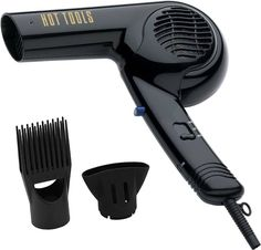 Hot Tools Dual Voltage Professional Hair Blow Dryer 1875W Concentrator Pik 1089