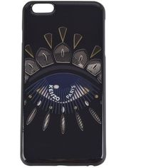 Kenzo Eye Iphone 6 Plus Case (€30) ❤ liked on Polyvore featuring accessories, tech accessories, black and kenzo