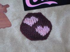 2 hearts hexipuff embellishment (duplicate sts)