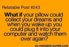 That would be amazing!!!!