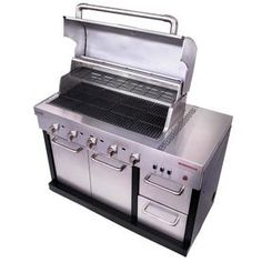Product Image 2 Plancha Grill, Modular Outdoor Kitchens, Bbq Set, Ebay, Outdoor Ideas, Backyard Ideas, San Clemente, Lowes, Refrigerator