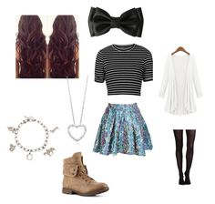 """""""Caroline Matthews Outfit #28"""" by amazingness-of-fashion on Polyvore featuring Topshop, SPANX and Tiffany & Co."""