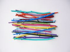 Painted Branches. 10 - 15 inches long.