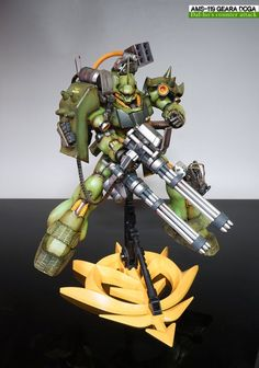 Custom Build: MG 1/100 AMS-119 Geara Doga - Gundam Kits Collection News and Reviews