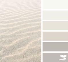 { sand tones } image via: @hannievanbreda  #color #palette #colorpalette #pallet #colour #colourpalette #design #seeds #designseeds