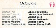 Urbane font download