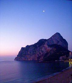 Peñon de Ifach, Calpe, Spain. Climbed it TWICE! :)