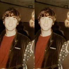 "more-than-just-holding-hands: ""John Lennon - Rest in peace, beautiful angel. Damon Albarn, Liverpool, The Quarrymen, Nowhere Man, John Lennon Beatles, Julian Lennon, The Fab Four, Ringo Starr, George Harrison"