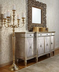 Funky home decor - Truly funky funky room decor examples and concepts. Note pin suggestion reference 5983477302 assigned under category diy funky home decor, pinned on 20190109 Mirrored Furniture, Home Decor Furniture, Dining Room Furniture, Painted Furniture, Furniture Design, Mirrored Sideboard, Credenza, Furniture Stores, Luxury Furniture