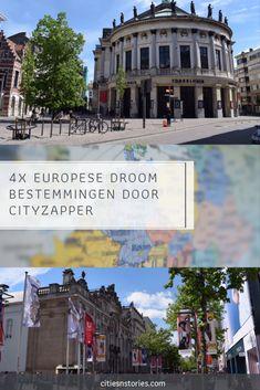 Online stedenplatform CityZapper heeft vier mooie Europese steden geselecteerd als Dream Destination. Bekijk ze in deze blog en doe nieuwe inspiratie op voor je volgende stedentrip! Summer Travel, Traveling By Yourself, Travel Inspiration, Dutch, Travel Destinations, Cities, Heart, Building, Blog