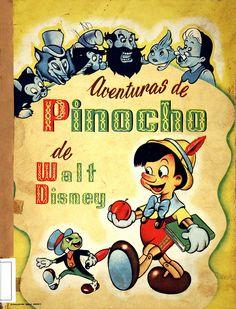 Pinocho (Personaje de ficción). Pinocho / de Walt Disney [s.a]