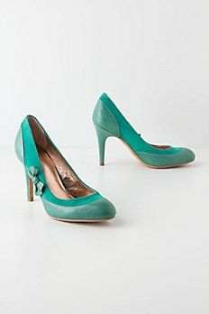 Overbow Cutout Heels - Anthropologie.com