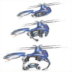 Volkswagen Bio Runner Concept Art