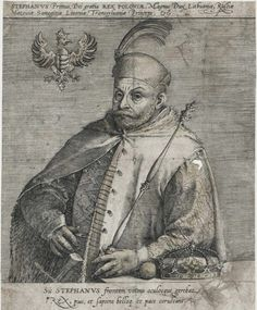 King Stephen Báthory by Anonymous, 1570s (PD-art/old), Österreichische Nationalbibliothek
