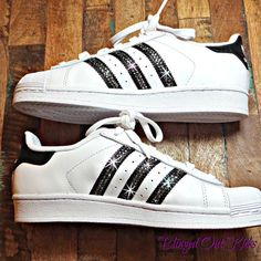 Adidas Original Superstar with SWAROVSKI® by ShopBlingedOutKicks