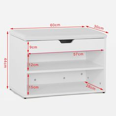 Make my own for the entry closet #diyshoerackcabinet