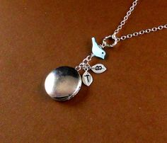 Personalized Silver Mother of Pearl Sparrow by ManoCelebrates, $21.00