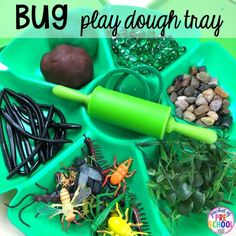 Bug themed activities and centers for preschool, and kindergarten (freebies too)! Perfect for spring, summer, or fall! Insect Activities, Playdough Activities, Spring Activities, Animal Activities, Kindergarten Freebies, Kindergarten Activities, Preschool Activities, Motor Activities, Bug Crafts