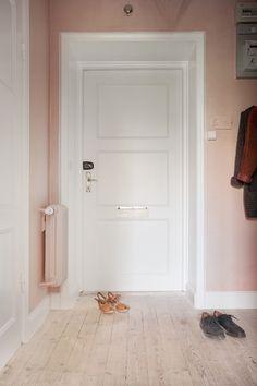Gravity Home: Millennial pink hallway