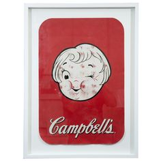 Vintage Cambell's Soup Advertisement Poster