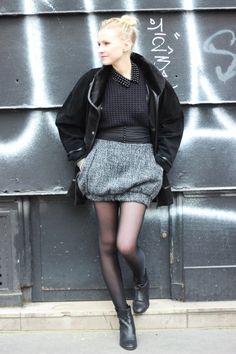Black and Tweed.