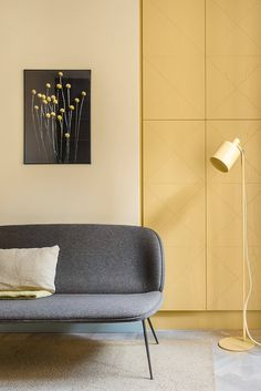 Known for embracing colour in their work, Note Design Studio have transformed a 19th century office space into a family home, app...