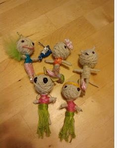 Make a voodoo doll tutorial they sell these for stupid amounts of money