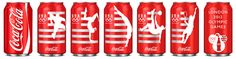 turner duckworth: team USA coca-cola cans