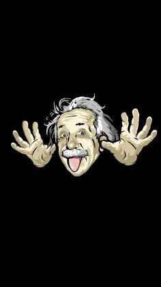 Albert Einstein 750 x 1334 Home Screen Wallpapers available for free download.